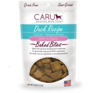 Caru Soft 'n Tasty Baked Bites Duck Recipe Grain-Free Dog Treats, 4-oz bag