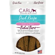 Caru Soft 'n Tasty Baked Bars Duck Recipe Grain-Free Dog Treats, 4-oz bag