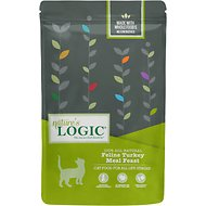 Nature's Logic Feline Turkey Meal Feast All Life Stages Dry Cat Food, 3.3-lb bag