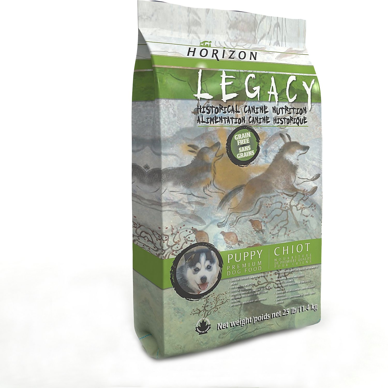 Horizon Legacy Puppy Grain-Free Dry Dog Food, 25-lb bag ...