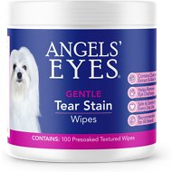 Angels' Eyes Gentle Tear Stain Wipes for Dogs, 100 count