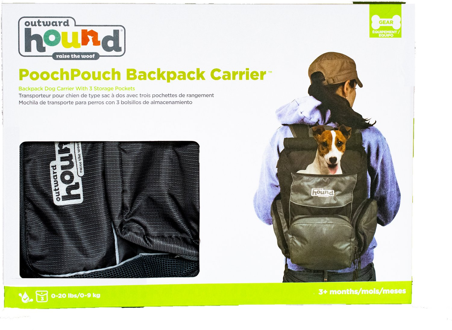 a37053d1ccd9 Outward Hound PoochPouch Dog Backpack