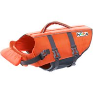 Outward Hound Granby RipStop Dog Life Jacket, Small Bright Orange