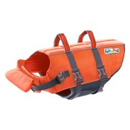 Outward Hound Granby RipStop Dog Life Jacket, Medium Bright Orange