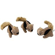 Outward Hound Replacement Squirrels for Hide A Squirrel Puzzle Dog Toy, 3 count