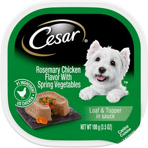 Cesar Loaf & Topper in Sauce Rosemary Chicken Flavor