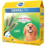 Pedigree Dentastix Large Fresh Dog Treats, 28 count