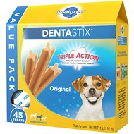Pedigree Dentastix Small Original Dog Treats, 45 count