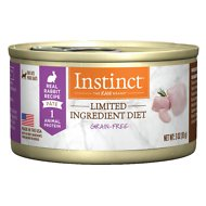 Instinct by Nature's Variety Limited Ingredient Diet Grain-Free Real Rabbit Recipe Natural Wet Canned Cat Food, 3-oz, case of 24