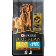 Purina Pro Plan Adult 7+ Large Breed Chicken & Rice Formula Dry Dog Food