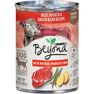 Purina Beyond Beef, Potato & Green Bean Recipe Ground Entrée Grain-Free Canned Dog Food, 13-oz, case of 12