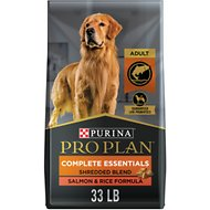Purina Pro Plan Savor Adult Shredded Blend Salmon & Rice Formula Dry Dog Food, 33-lb bag