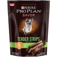 Purina Pro Plan Savor Tender Strips with Lamb & Sweet Potato Dog Treats, 16-oz bag