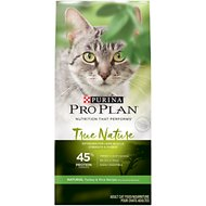 Purina Pro Plan True Nature Turkey & Rice Recipe Dry Cat Food, 3.2-lb bag