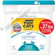 Tidy Cats Lightweight Instant Action Clumping Cat Litter, 12-lb pail