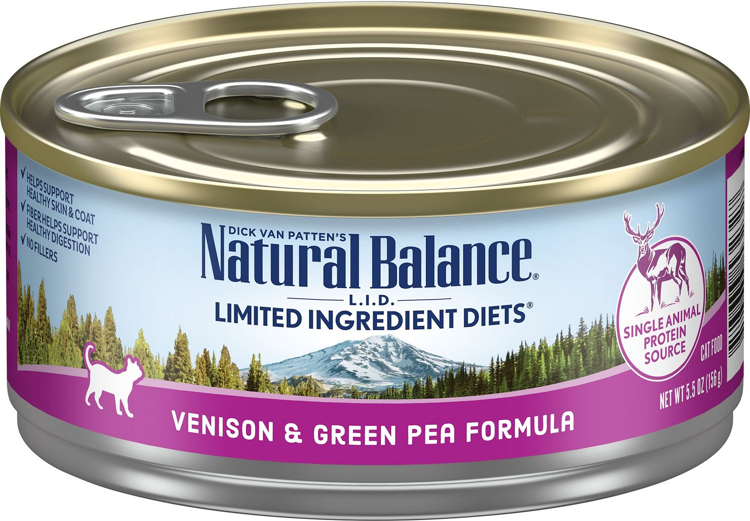 Venison And Green Pea Cat Food