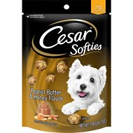 Cesar Softies Peanut Butter & Honey Dog Treats, 6.7-oz bag