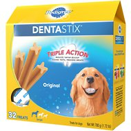 Pedigree Dentastix Large Original Dog Treats, 32 count