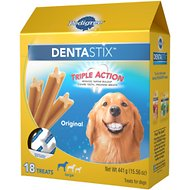 Pedigree Dentastix Large Original Dog Treats, 18 count