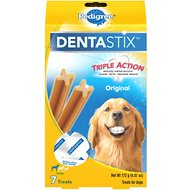 Pedigree Dentastix Large Original Dog Treats, 7 count