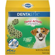 Pedigree Dentastix Fresh Bites Dog Treats, 18-oz bag