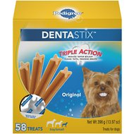 Pedigree Dentastix Mini Original Dog Treats, 58-count