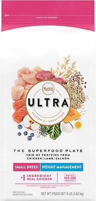 3. Nutro Ultra Small Breed Weight Management