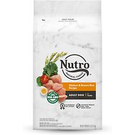 Nutro Wholesome Essentials  Adult Farm Raised Chicken, Brown Rice & Sweet Potato Recipe Dry Dog Food, 5-lb bag
