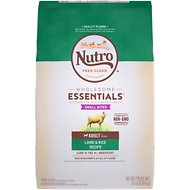 Nutro Wholesome Essentials Small Bites Adult Pasture Fed Lamb & Rice Recipe Dry Dog Food, 15-lb bag