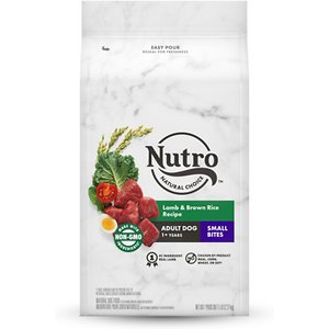 Nutro Wholesome Essentials Small Bites Adult Pasture Fed Lamb & Rice Recipe Dry Dog Food, 5-lb bag