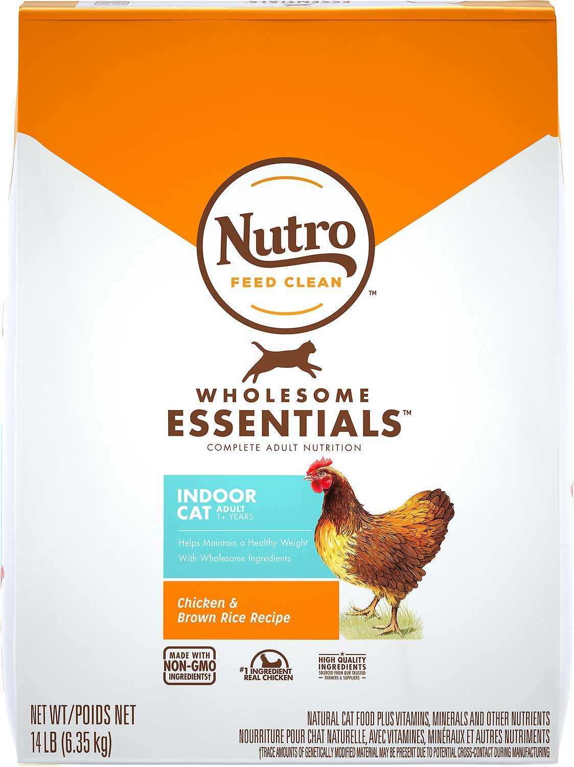 Nutro wholesome essentials indoor adult farm raised chicken brown video forumfinder Image collections