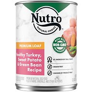 Nutro Premium Loaf Turkey, Sweet Potato & Green Bean Grain-Free Canned Dog Food