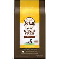 Nutro Grain-Free Adult Duck & Potato Recipe Dry Cat Food, 3-lb bag