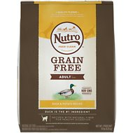 Nutro Grain-Free Adult Duck & Potato Recipe Dry Cat Food, 14-lb bag