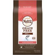 Nutro Grain-Free Adult Salmon & Potato Recipe Dry Cat Food, 3-lb bag