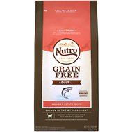 Nutro Grain-Free Adult Salmon & Potato Recipe Dry Cat Food, 6.5-lb bag