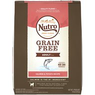 Nutro Grain-Free Adult Salmon & Potato Recipe Dry Cat Food, 14-lb bag