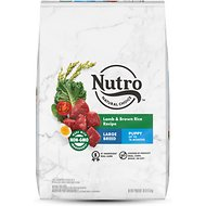 Nutro Wholesome Essentials Large Breed Puppy Pasture Fed Lamb & Rice Recipe Dry Dog Food, 30-lb bag