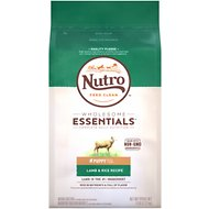 Nutro Wholesome Essentials Puppy Pasture Fed Lamb & Rice Recipe Dry Dog Food, 5-lb bag