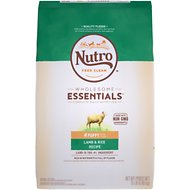 Nutro Wholesome Essentials Puppy Pasture Fed Lamb & Rice Recipe Dry Dog Food, 15-lb bag