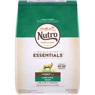 Nutro Wholesome Essentials  Adult Pasture Fed Lamb & Rice Recipe Dry Dog Food, 15-lb bag