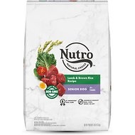 Nutro Wholesome Essentials Senior Pasture Fed Lamb & Rice Recipe Dry Dog Food, 30-lb bag