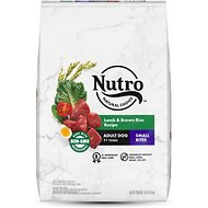 Nutro Wholesome Essentials Small Bites Adult Pasture Fed Lamb & Rice Recipe Dry Dog Food, 30-lb bag