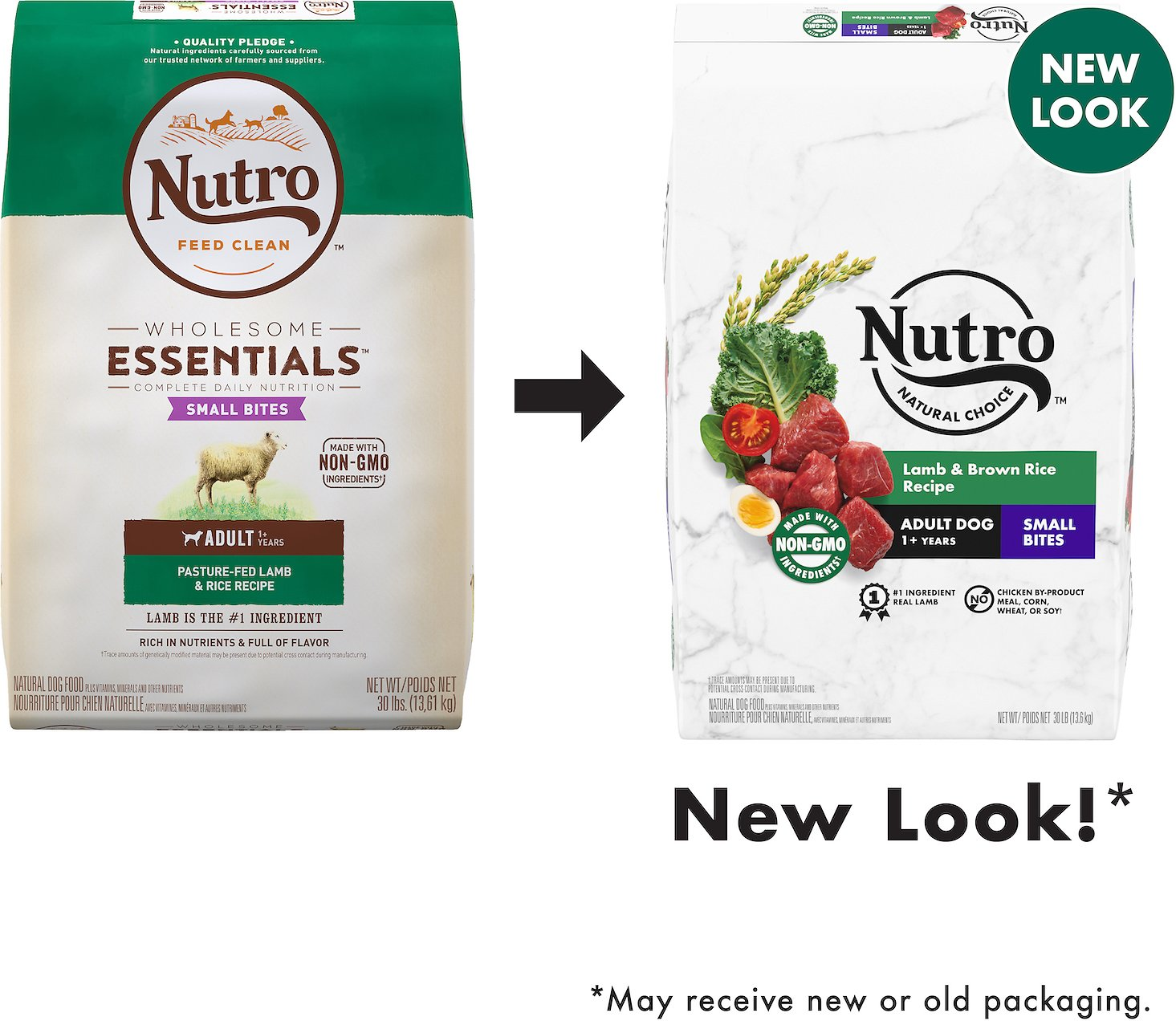 Nutro Wholesome Essentials Small Bites Adult Pasture Fed