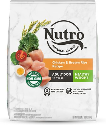 2. Nutro Wholesome Essentials Healthy Weight Adult Dry Dog Food