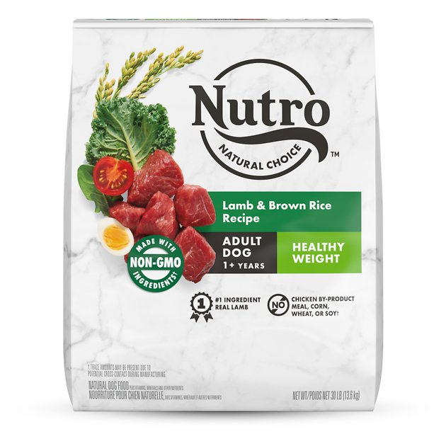 3. Nutro Wholesome Essentials Healthy Weight Adult Dry Dog Food