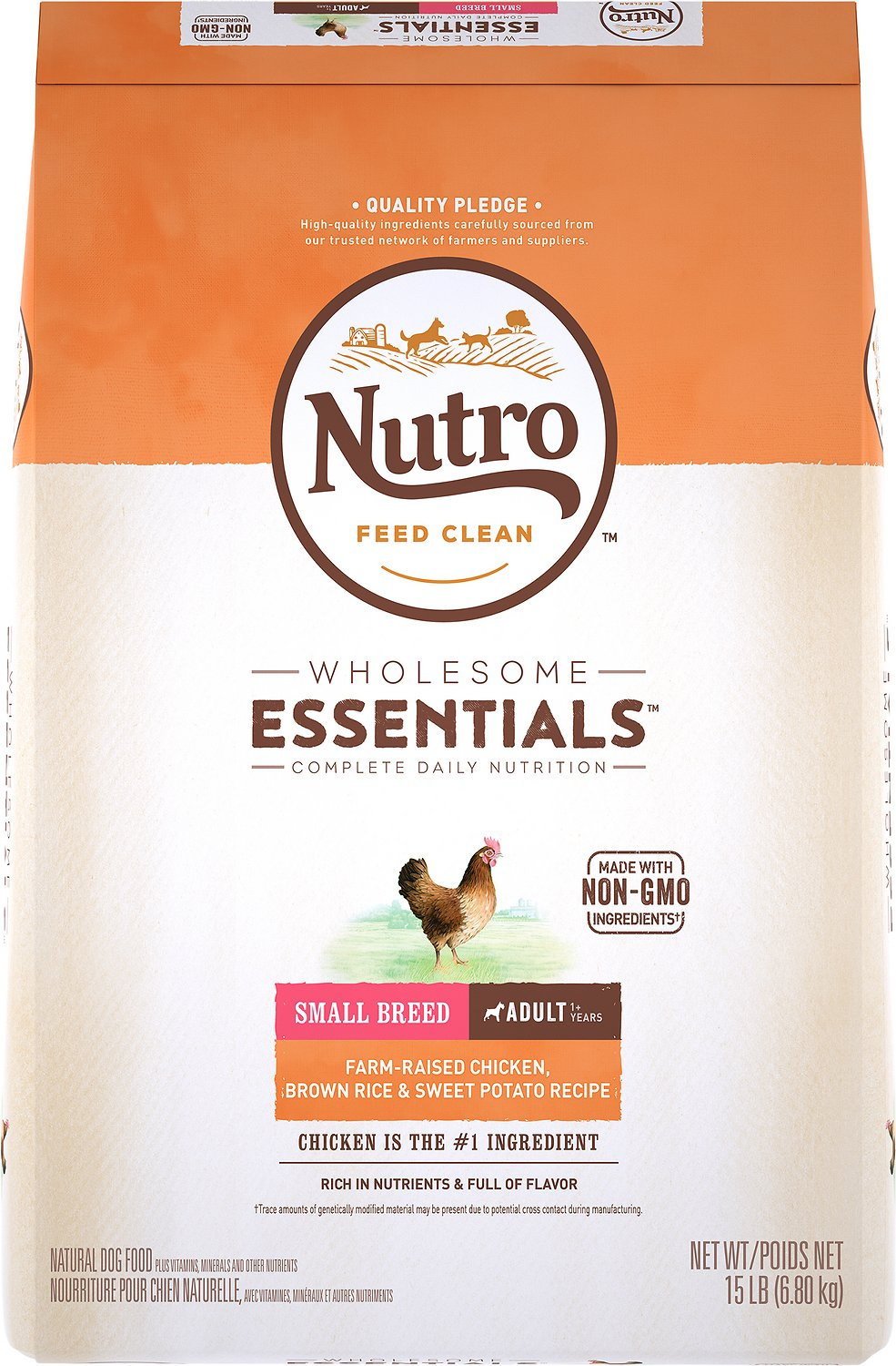 Nutro Wholesome Essentials Small Breed Adult Dry Dog Food
