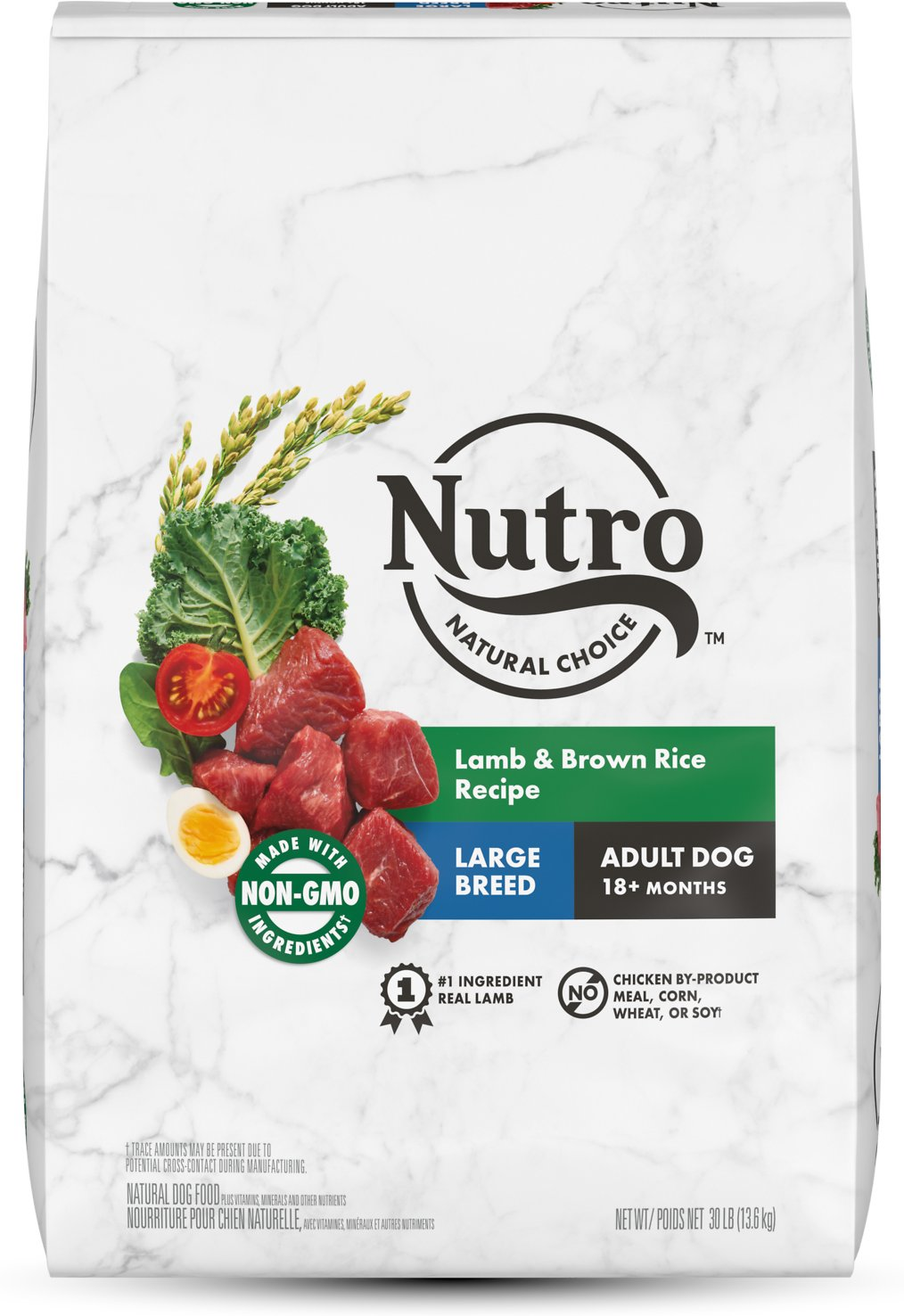 Nutro Wholesome Essentials Large Breed Adult Lamb Dry Dog Food