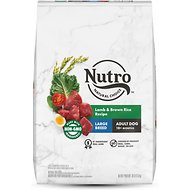 Nutro Wholesome Essentials Large Breed Adult Lamb & Rice Recipe Dry Dog Food, 30-lb bag