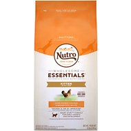 Nutro Wholesome Essentials Kitten Farm-Raised Chicken & Brown Rice Recipe Dry Cat Food, 6.5-lb bag
